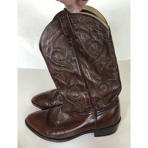 DAN POST Milwaukee 2111 Cowboy Boots 10.5 EW